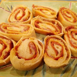 Pepperoni Stuffed Bread