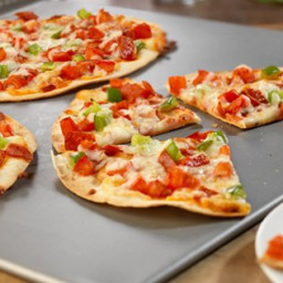 Pepperoni Tortilla Pizzas