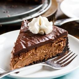 Perfect Chocolate Cheesecake