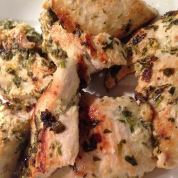 Perfect Herbed Grilled Chicken