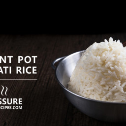 Perfect Instant Pot Basmati Rice