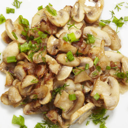 Perfect sauteed mushrooms and onions!