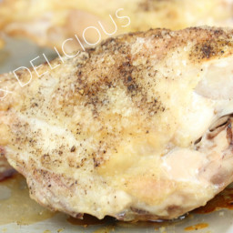 Perfectly Baked Chicken Breasts (Bone In)