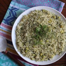 Persian Style Dill Rice Recipe