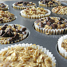 Personal Sized Baked Oatmeal with Individual Toppings: Gluten Free  and  Di