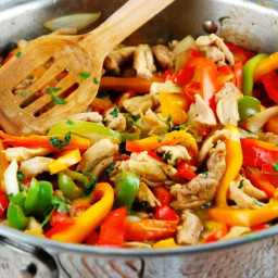 Peruvian Chicken Stir Fry Recipe