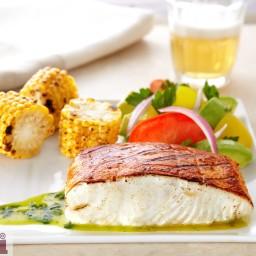 Pescado a la talla (Grilled  fish talla-style)