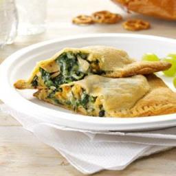 Pesto Chicken Turnovers Recipe