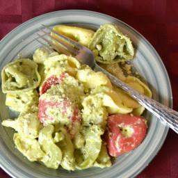 Pesto Cream & Artichoke Tortellini