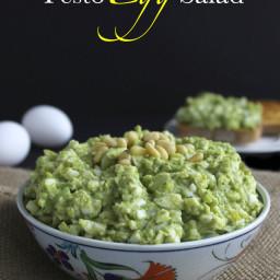 Pesto Egg Salad