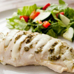 Pesto Hasselback Chicken