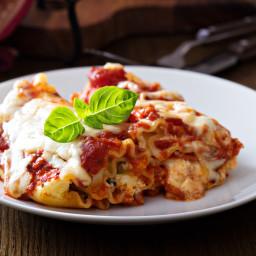 Pesto Lasagna Rolls