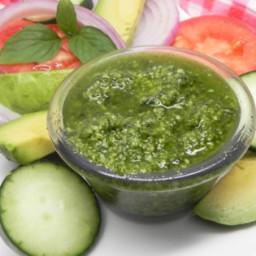 Pesto Pesto Sauce (Nut Free or Dairy Free) Recipe