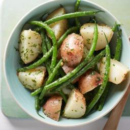 Pesto Potato and Green Bean Salad