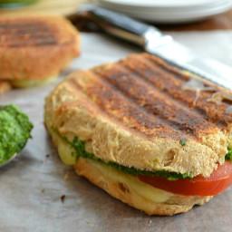 Pesto-Tomato Grilled Cheese Sandwiches