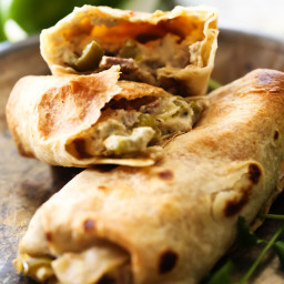 Philly Cheese Steak Chimichangas