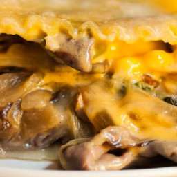 Philly Cheese-steak Lasagna