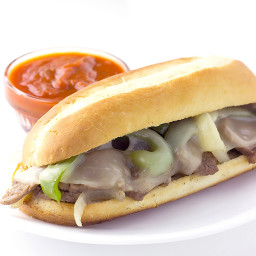 Philly Cheesesteak Sandwiches Recipe