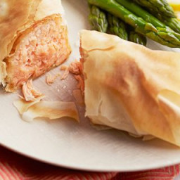 Phyllo-Wrapped Salmon