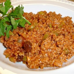 Picadillo Cubano (Cuban Ground Beef)