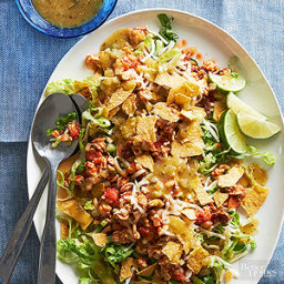 Picadillo-Style Chicken Taco Salad