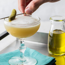 Pickle Juice Whiskey Sour