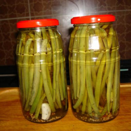 Pickled Green Beans Dilly Beans)