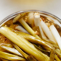 Pickled Scallions