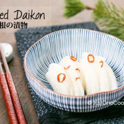 Pickled Daikon Recipe
