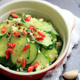 Pickling Cucumbers Salad