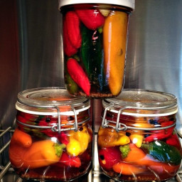 Pickling Hot Peppers