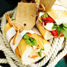 Picnic baguettes