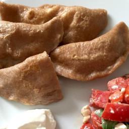 Pierogi Ruskie (Poolse dumplings)