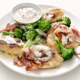 Pierogi with Ham and Broccoli