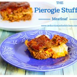 Pierogie Stuffed Meatloaf