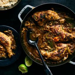 Pierre Thiam's Chicken Yassa