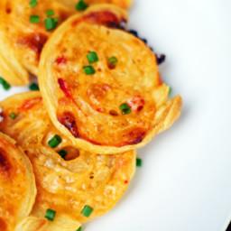 Pimiento Cheese Pinwheels