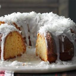 Pina Colada Bundt Cake Recipe