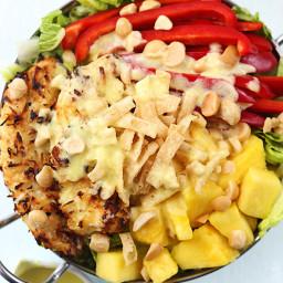 Pina Colada Chicken Salad