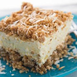 Pina Colada Crunch Cake