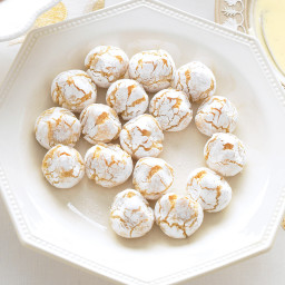 Pinched Orange Macaroons
