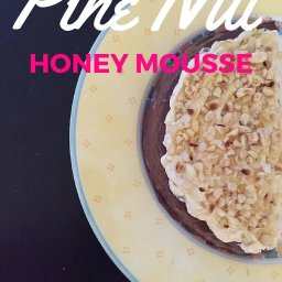 Pine Nut Honey Mousse (Dairy free, Gluten Free, and Sugar Free)