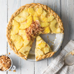 Pineapple and Coconut Pie