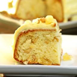 Pineapple Cashew Cake