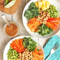 Pineapple Cashew Thai Quinoa Salad