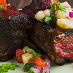 Pineapple-Chipotle Grilled Short Ribs