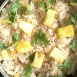 Pineapple Cilantro Rice