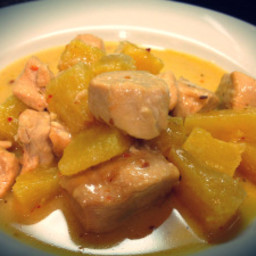 Pineapple Coconut Chipotle Chicken Slow Cooker Recipe