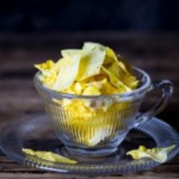 Pineapple Core Crisps