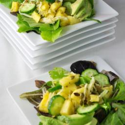 Pineapple Jicama Salad